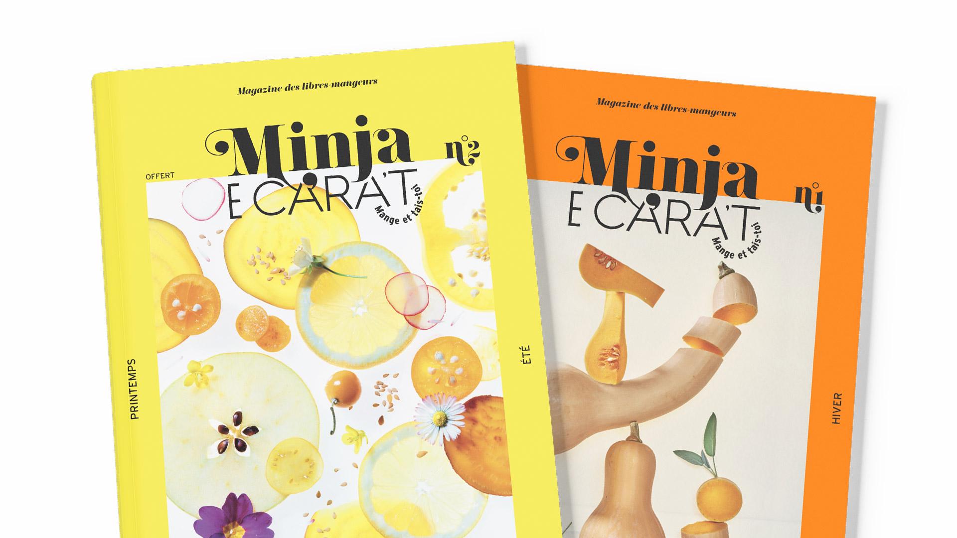 Minja E Cara't, le magazine des libres-mangeurs